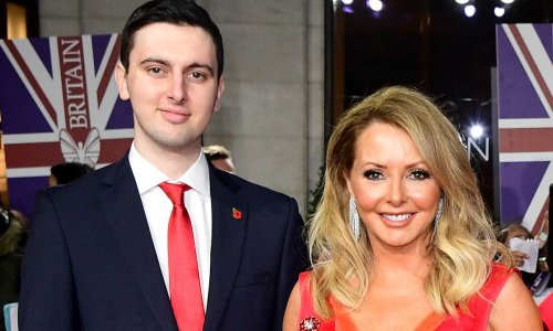 Carol Vorderman makes deeply personal confession about son's severe learning disabilities