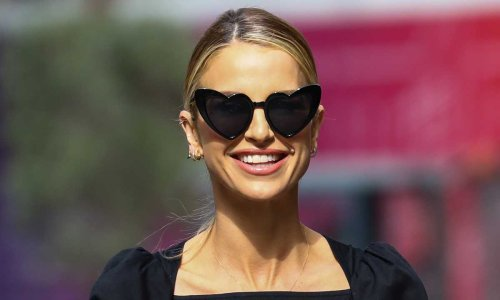 Vogue Williams turns heads in elegant cut out dress - recreate her look