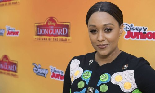 Tia Mowry's dreamy striped dress is so perfect for summer
