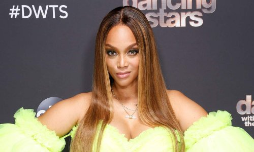 Tyra Banks' hair divides fans in stunning bedroom selfie
