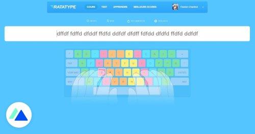 Ratatype : un outil gratuit pour tester et améliorer votre vitesse de frappe au clavier - BDM