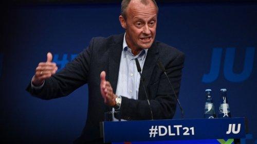 CDU: Merz bringt sich in Stellung - Junge Union rechnet mit Laschet ab