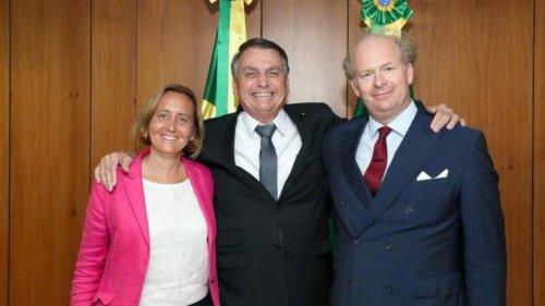 Brasiliens Präsident Bolsonaro empfängt AfD-Vize Storch