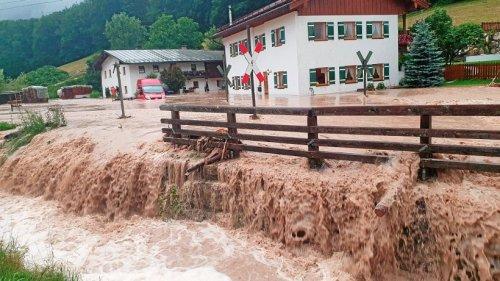 Hochwasser in Bayern: So ist die Lage in Passau und Berchtesgaden