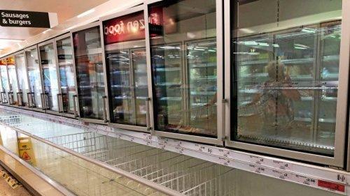 England: Leere Regale in Supermärkten wegen Delta-Variante