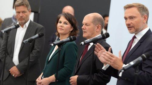 Koalitionsverhandlungen: SPD. Grüne und FDP beraten am Nachmittag