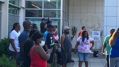 Facebook video showing police arresting 2 Black men prompts Rock Hill protest