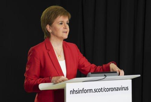 Sturgeon tells Sunak to axe 'unforgivable' Universal Credit cut and extend furlough