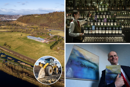 Hotel, motor museum and tourist park plan unveiled | Scottish investment company to lose independence in deal | Scottish carbon capture cluster eclipsed