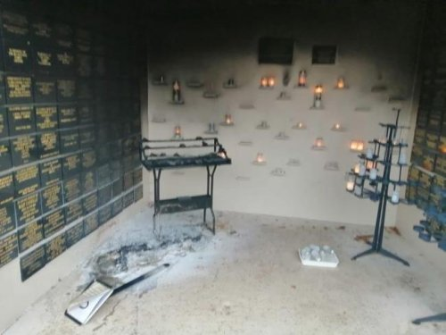 """'What will the FM do?' - Historic Scots Catholic shrine is vandalised by """"yobs"""""""