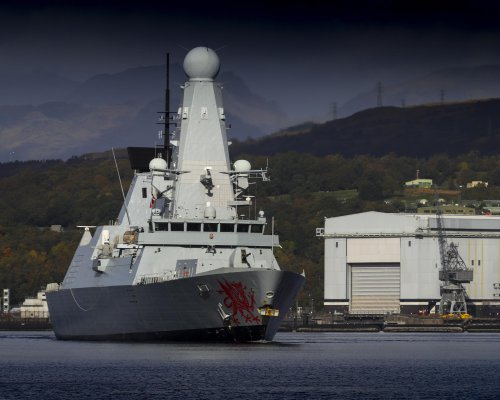 NATO warships spotted on Clyde ahead of Excersise Joint Warrior