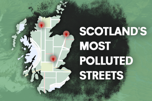 Scotland's most polluted streets exposed with toxic readings rising in worst areas