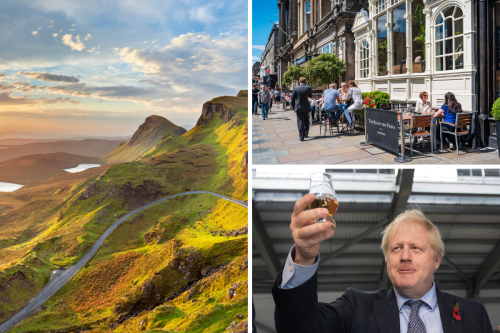 Boris Johnson's staycation fantasy as boom claims burst