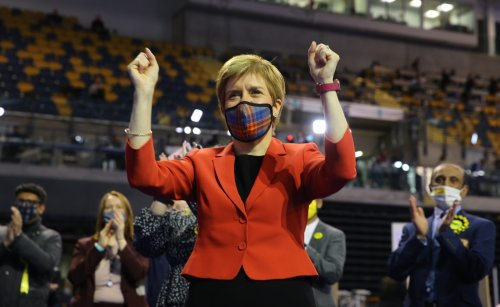 Hopes of SNP majority fading as record turnout and tactical voting dominate election