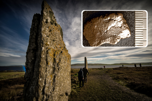 Mystery of 5,000-year-old fingerprints from iconic standing stone site solved