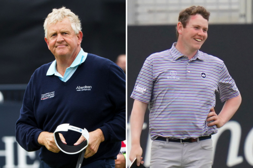 Colin Montgomerie: Robert MacIntyre would be in Ryder Cup team tomorrow if it was in Europe