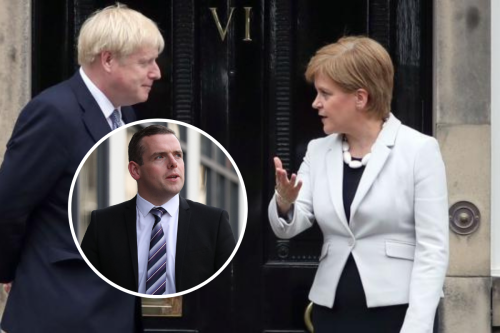 Johnson 'quite right' to reject Sturgeon's meeting invite — Douglas Ross