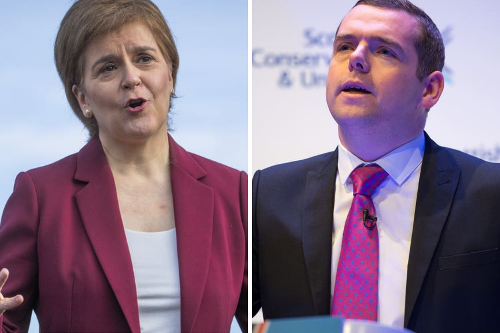 Tories plan 16 Bills as work to become 'real alternative' to the SNP begins