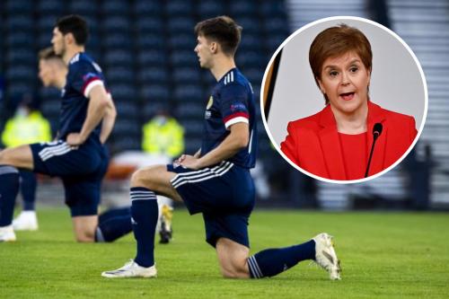 Nicola Sturgeon speaks out amid Scotland team's Euro 'taking the knee' row