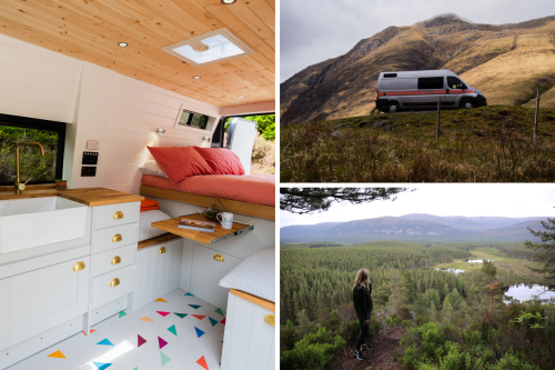 Scotland Staycation: 48 hours in a luxury campervan