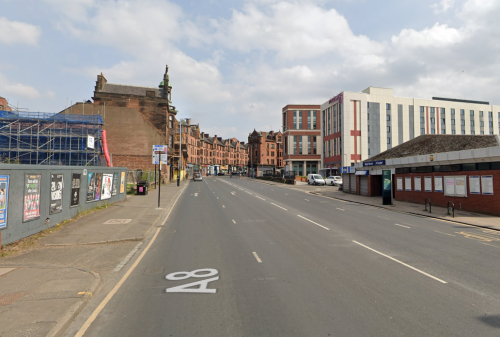 Glasgow's High Street locked down during 'ongoing' police incident