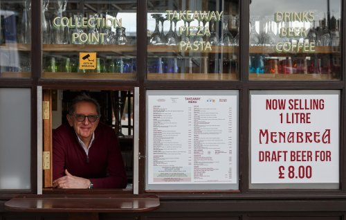 Restaurateur expresses surprise at having to take on more staff after reopening