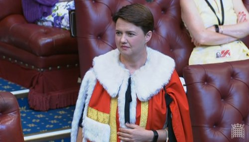 'Do I really belong here? Am I part of this world?' Ruth Davidson: My Week