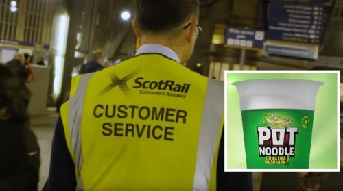 'Laughable': ScotRail and union leaders come to blows over Pot Noodle lunches as strike continues