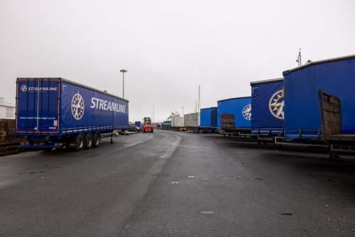 'This can't continue': 45 trailers held up in Shetland's ferry freight 'crisis'