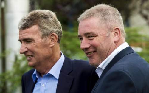 Emotional Ally McCoist pays tribute to late Ibrox legend Sandy Jardine for his role in Rangers' revival