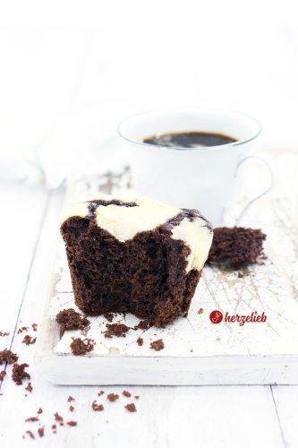 Cheesecake Muffins Rezept - 18 kleine Lieblingskuchen