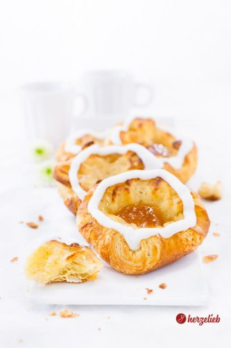 Spandauer Rezept – dänischer Kuchen aus Wienerbrød!