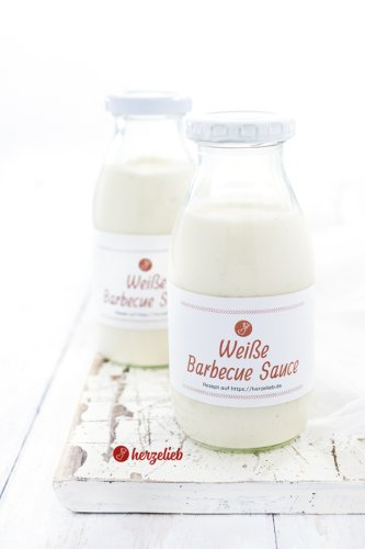 Weiße Barbecue Sauce Rezept – White BBQ-Sauce