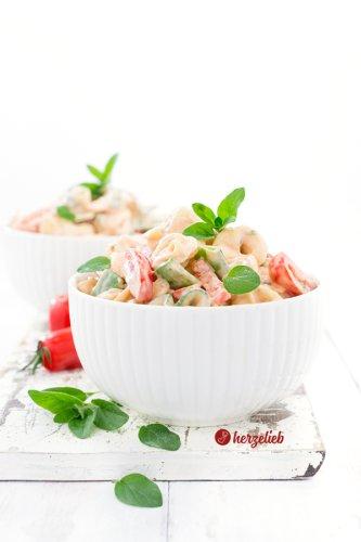 Tortellini Salat Rezept - leckerer Nudelsalat mal anders!
