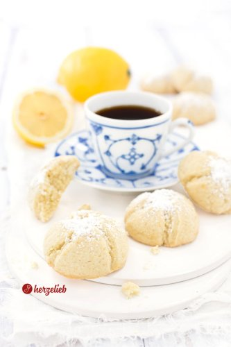 Zitronenmoppies Rezept - einfache & schnelle Zitronenkekse