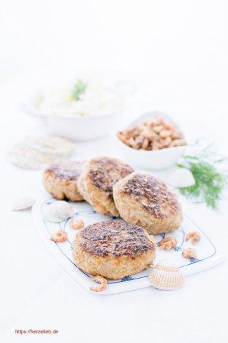 Krabbenfrikadellen Rezept – Küsten-Hausmannkost (Fisch)