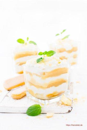 Apfel-Eierlikör-Tiramisu – Dessert mal fröhlich, festlich und immer lecker!