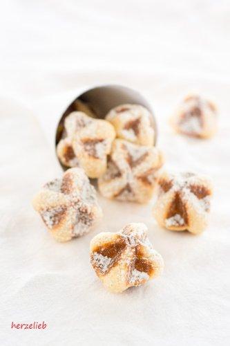 Waffeln to go Rezept - Waffelkekse oder kleine Kuchen