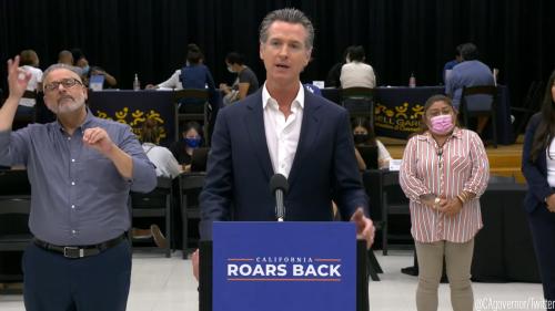 ACLU California affiliates announce opposition to Newsom recall