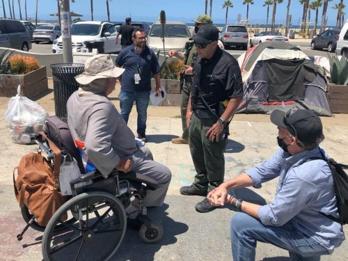 Venice Family Clinic condemns LASD for 'forced displacement and criminalization of unhoused people'
