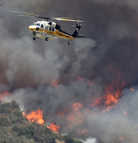 Smoke from central California wildfires expected to affect LA County