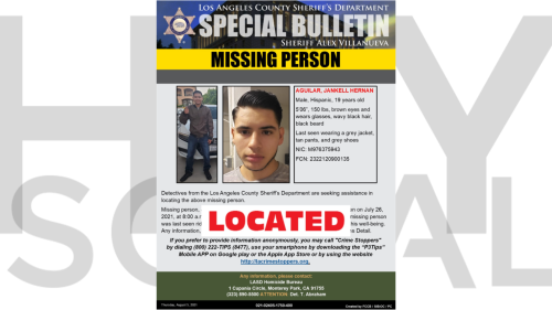 19-year-old man reported missing in San Pedro has been found