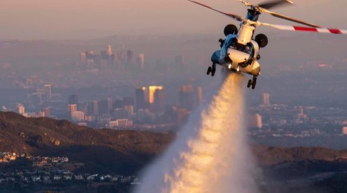 Fire departments in LA and Orange counties to get additional helicopters