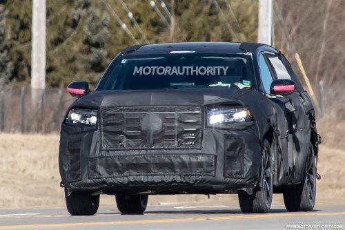 2023 Honda Pilot spy shots: Bigger and bolder 3-row SUV on the way