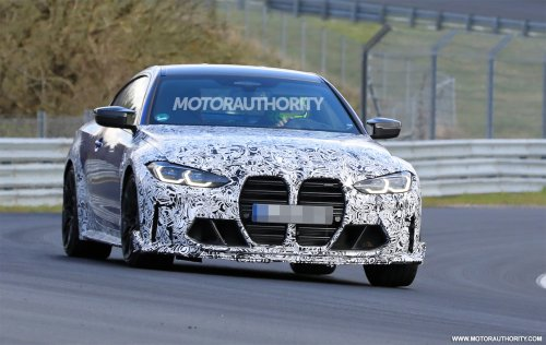 2023 BMW M4 CS spy shots: Hardcore M4 coupe in the works