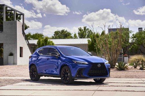 2022 Lexus NX: 36-mile plug-in hybrid, 36-MPG hybrid help normalize electrified luxury