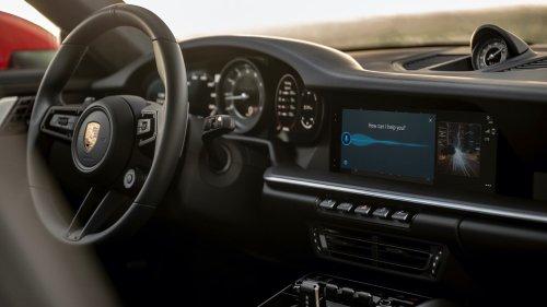"""Porsche PCM 6.0 infotainment system adds Android Auto, """"Hey Porsche"""" voice recognition"""