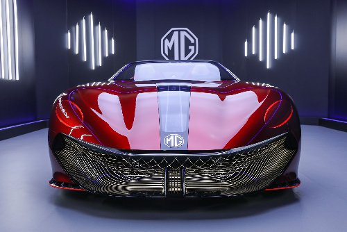 MG Cyberster: Electric sports car concept promises 500-mile range