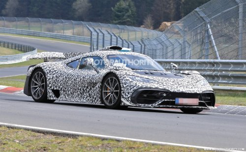 Mercedes-Benz AMG One spy shots: F1-powered hypercar finally takes to the 'Ring