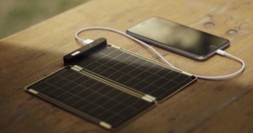 Компактная солнечная панель Solar Paper заряжает iPhone 6 за 2,5 часа - Hi-News.ru